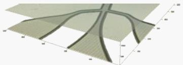 Measurement of layers beneath the material's surface