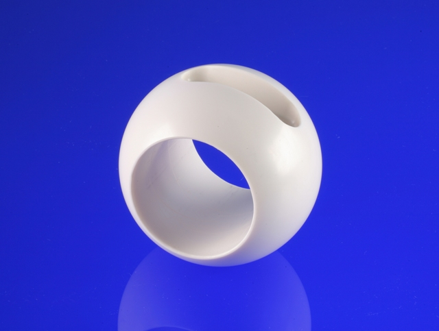 Large Nilcra™ zirconia ball valve