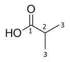 Compound 2 – isobutyric acid