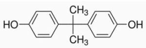 Structure of Bisphenol A (BPA)