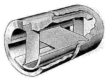 Free-Flex®flexural pivot cutaway