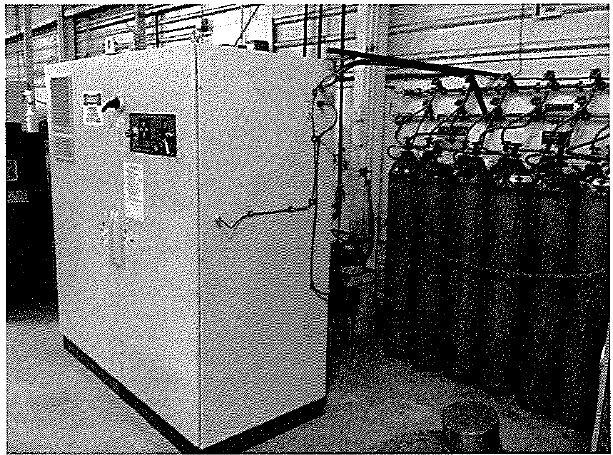 HOGEN hydrogen generator with cylinder surge storage capacity