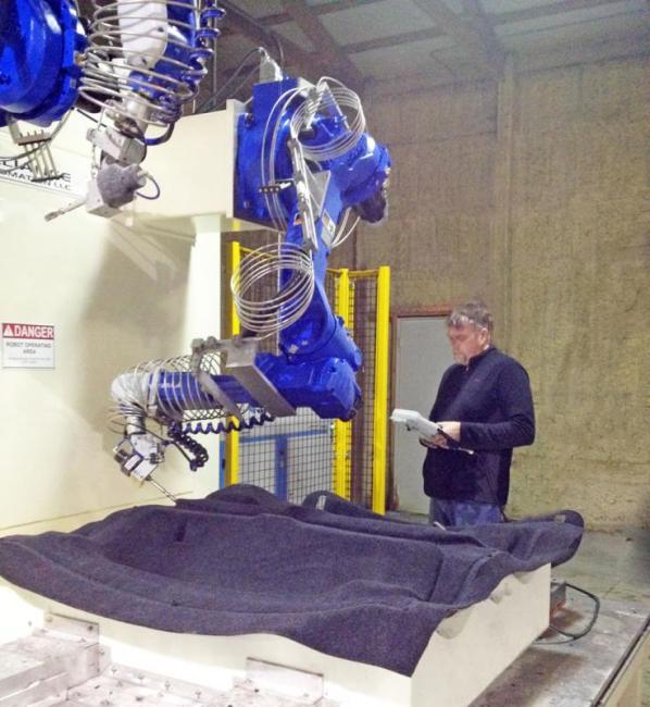 Revolutionary Robotic Waterjet