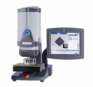 Wilson VH3300 automated Vickers hardness tester.