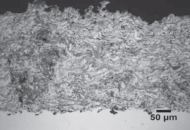 Plasma Spray Cast Iron, 20x.
