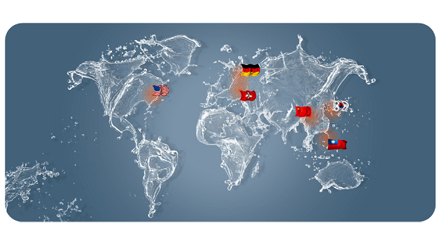 Levicron operates from Germany, Switzerland, the US and (more recently) China, South Korea and Taiwan
