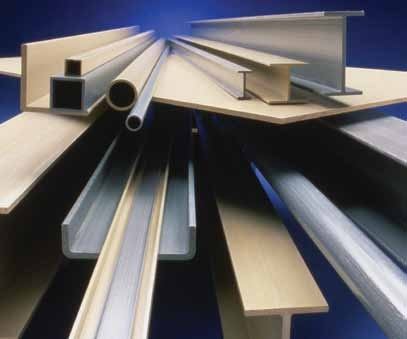 EXTREN® fiberglass structural shapes and plate