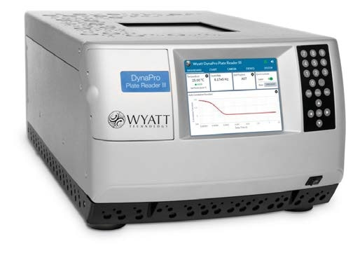The DynaPro Plate Reader enables high-throughput DLS studies of aggregation and stability-indicating parameters, in-creasing productivity in formulation studies.