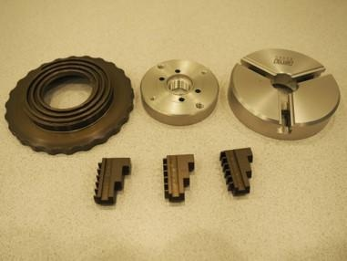 Disassembled 3 Jaw chuck