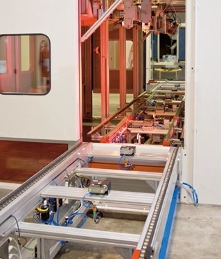 Testing of washing machines (Loccioni)
