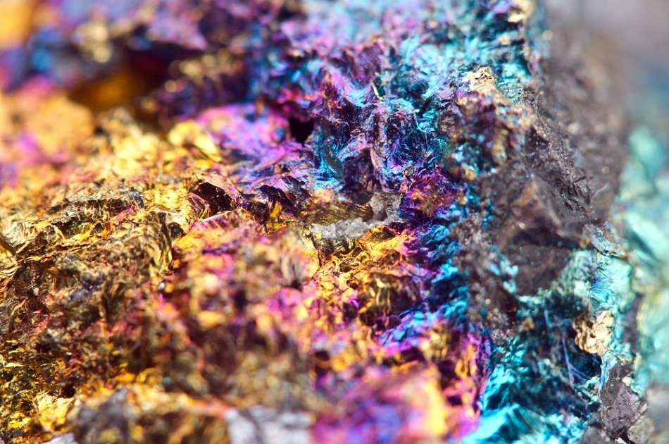 Fused minerals are created by melting down different ores simultaneously to give a new, unique mineral.
