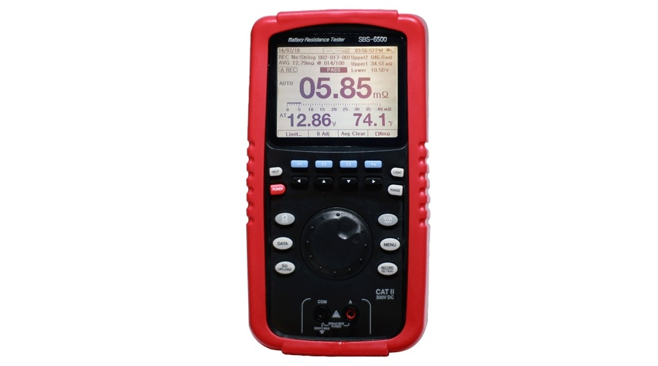 The SBS-6500 battery analyzer from Storage Battery Systems