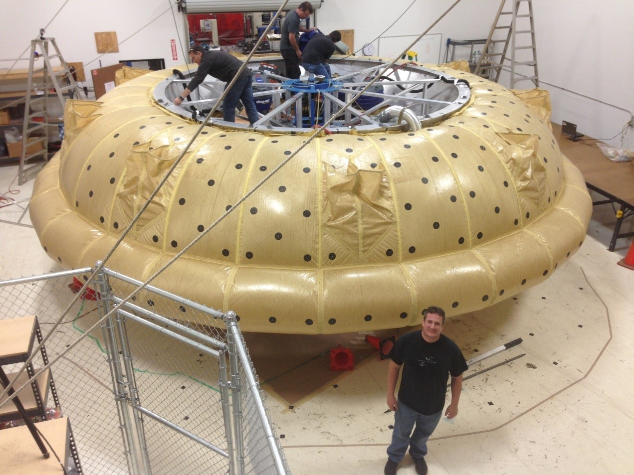 MID-MOUNTAIN'S COATED FABRIC FOR SIAD-E (supersonic inflatable aerodynamic decelerator) for NASA LDSD program (low density supersonic decelerator)