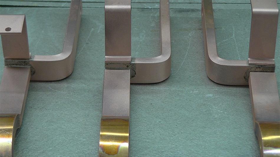 High precision and stability due to efficient induction brazing of busbars with MF generators by eldec