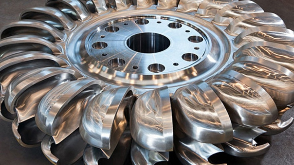 Induction annealing with MF generators by eldec enables a custom configuration for turbine production at Pelton