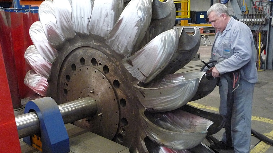 MF generators ensure high speed and quality in turbine production