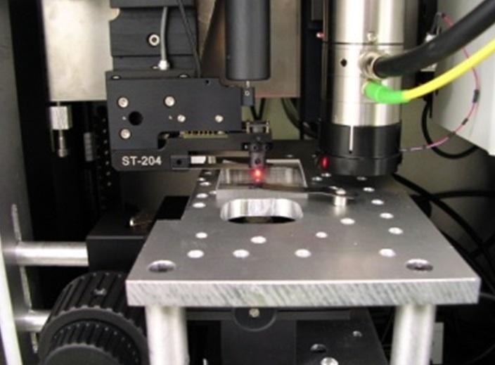 Anton Paar Nanoscratch Nanoindentation tester including the in-situ vision set-up