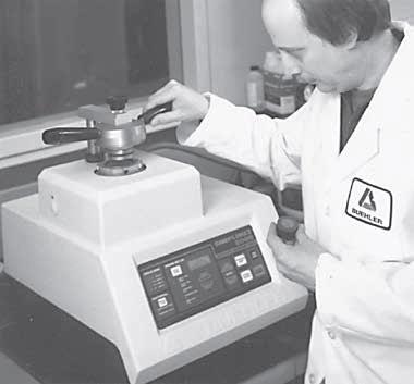 SIMPLIMET 2000 Automatic Press.