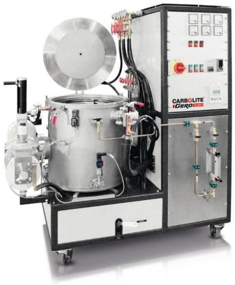 Top loader furnace LHTG up to 3000 °C.