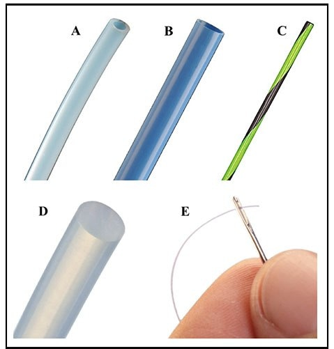 Example PTFE extruded products