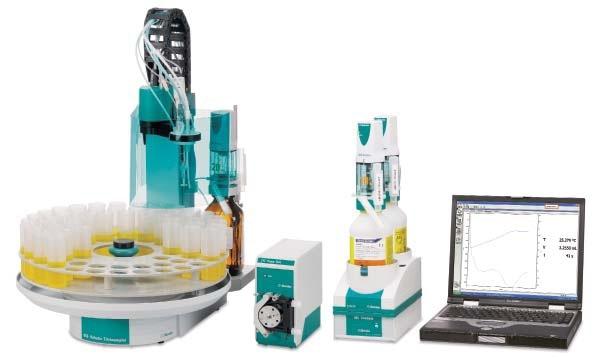 ASTM D8045 was developed using the Metrohm 859 Acidity Analyzer.