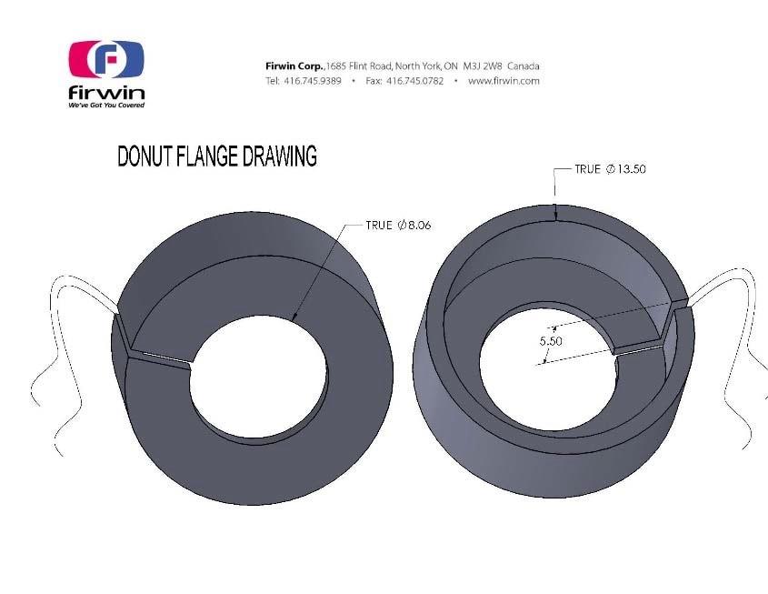 Donut Flange