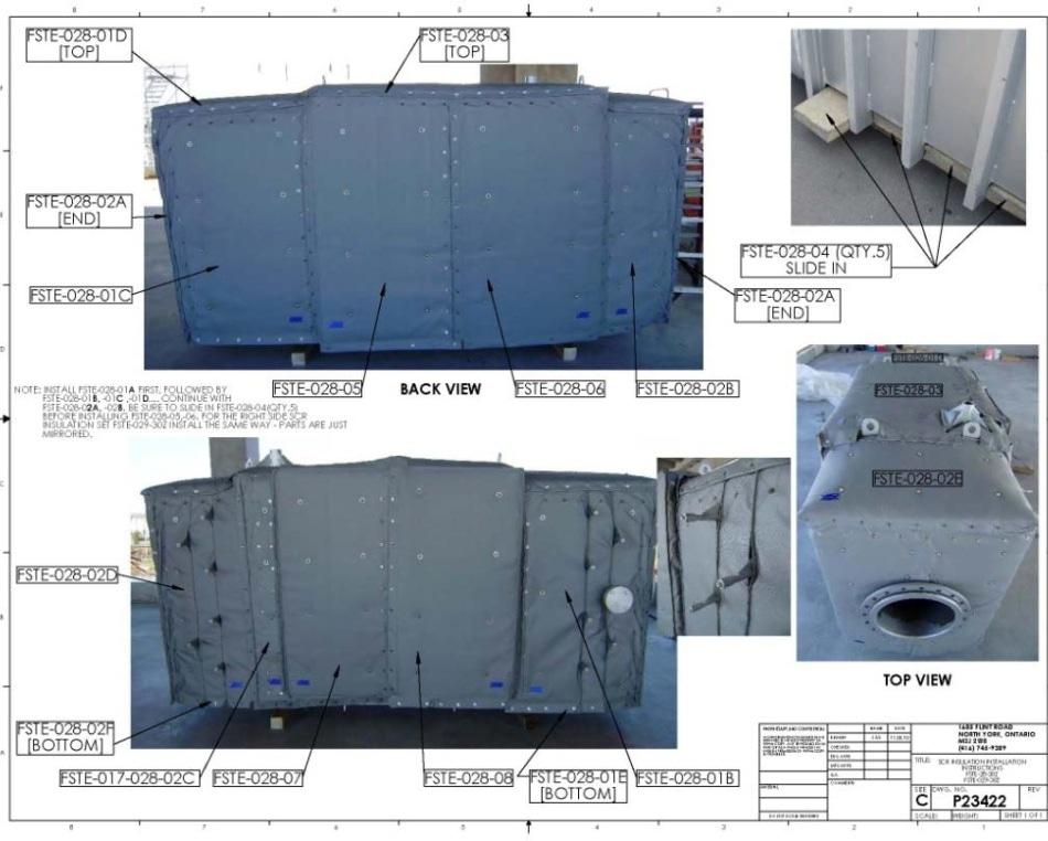 SCR Installation Diagram