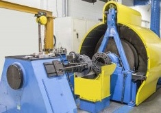 Full-scale brake test protocols/standards are typically conducted on dynamometers. Photo Courtesy of Greening Test Laboratories.