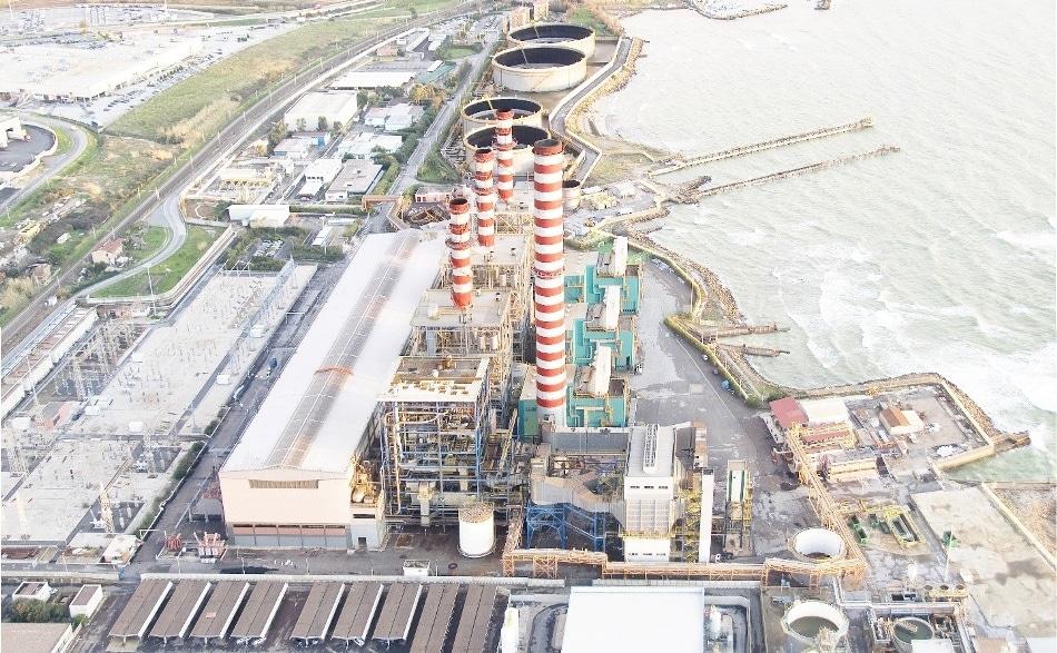 Clean coal power plant.