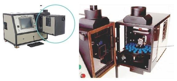 Robotics in SpectrOil M/R spectrometer.