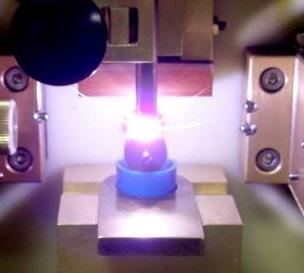 RDE spectrometer sample stand
