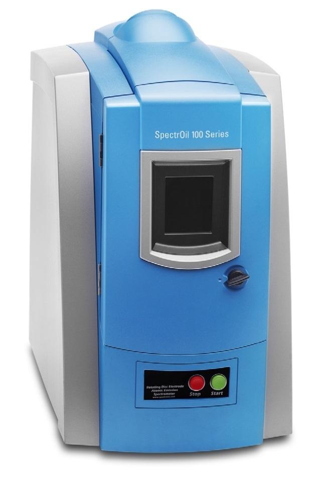 SpectrOil 100 Series RDE Spectrometer.
