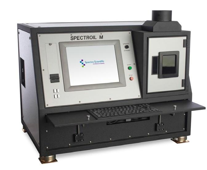 SpectrOil M Series elemental analyzer.