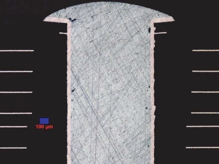 TriDent 3 µm Diamond Finishing; 50x