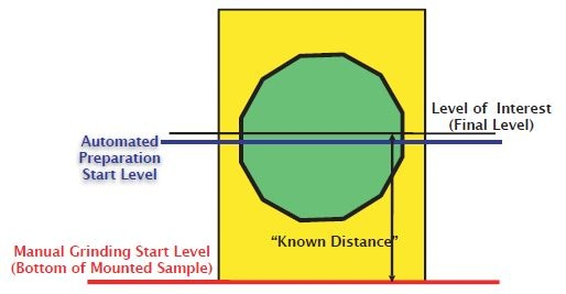 Preparation levels of the sample.