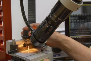 LatticeAx indent and cleaving system