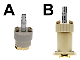 The TSC1600 closed cell (A), and the TSC SW closed cell (B).