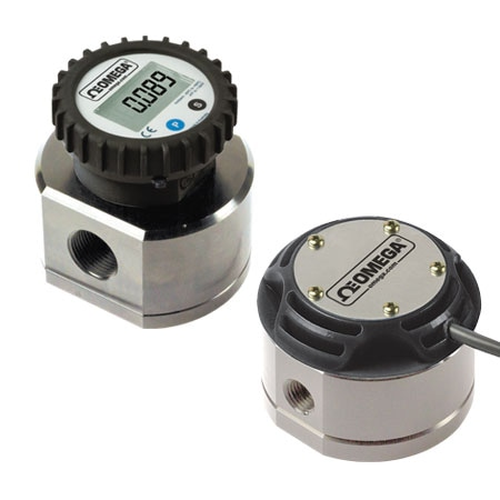 Positive Displacement Flow Meter for Industrial Processes