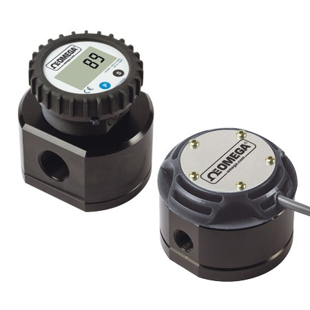 Positive Displacement Flow Meter for Fuels and Oils