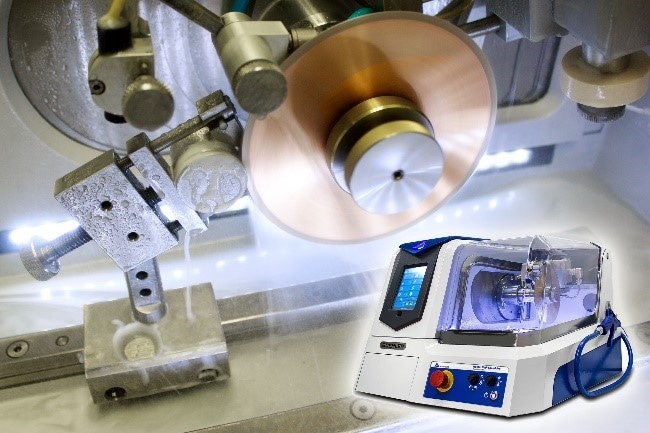 High technology precision cutters such as the IsoMet High Speed use powerful motors and smart cut systems to manage delicate aerospace coatings as well as tough complex shaped fastener systems