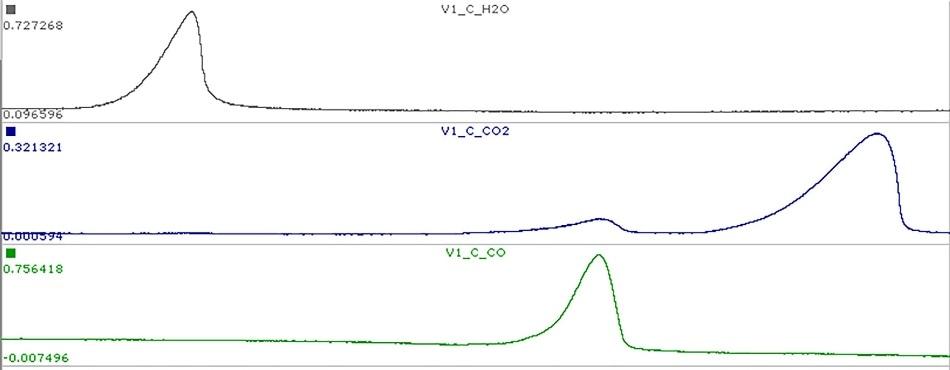 Dynamic Quantitative Gas Analysis
