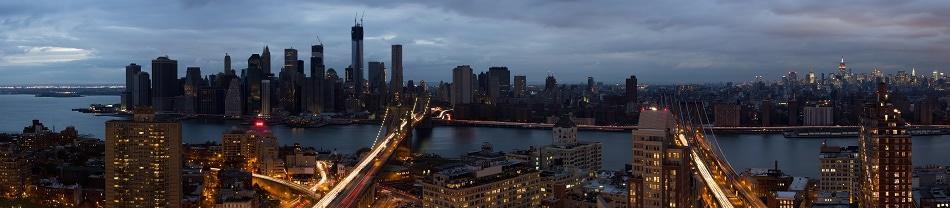 Manhattan Skyline after Hurricane Sandy caused Power Outage   Credit: Reggie Lavoie