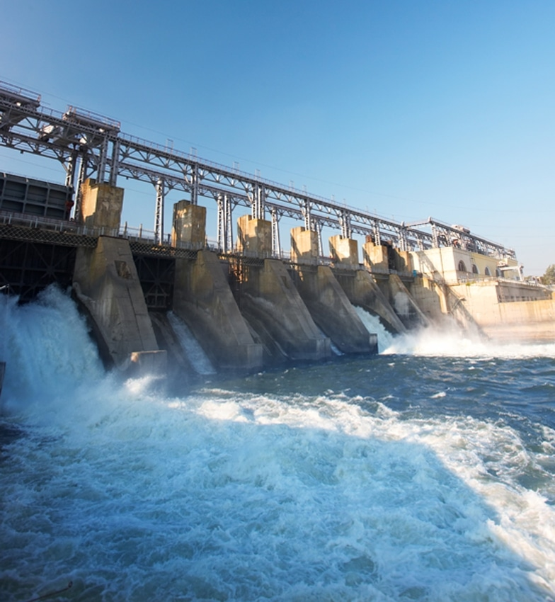 water works - dam