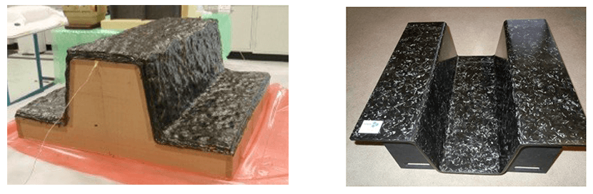 High-density tooling foam and Polished graphite Hexcell Corporation HexTool®