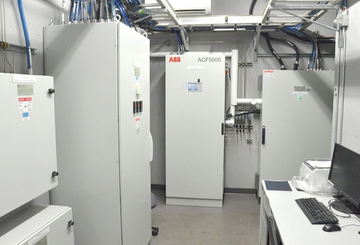 ACF5000 Analyzer CEM system installed at the Lévis incinerator in Québec, Canada