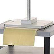 Lasagne stickiness test jig