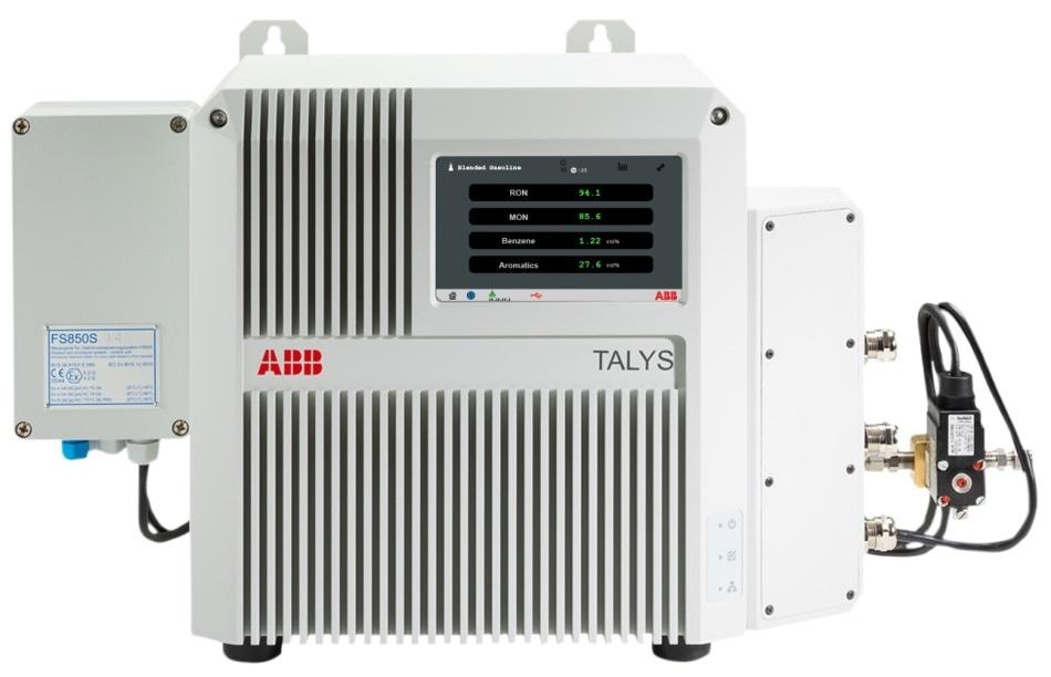 ABB process FT-NIR analyzer TALYS ASP400-Ex.