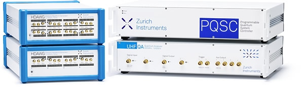 Zurich Instrument's quantum product landscape