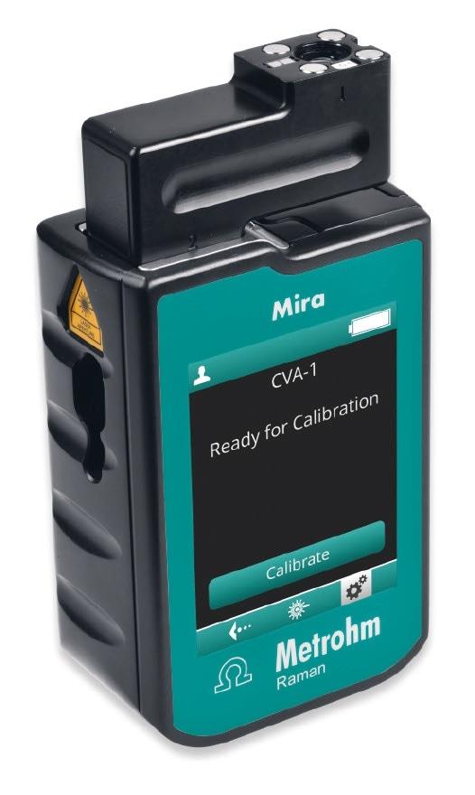 Mira P with Calibrate/Verify Accessory.