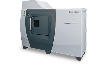 Microfocus X-Ray CT system inspeXio SMX-225CT FPD HR.